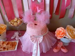 Tutu Party Decorations Ballerina Birthday Party Project Nursery