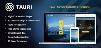 dart simple tauri premium coming soon html template html