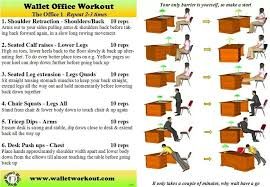 Exercise At The Office Desk Desk Exercises No No Excuse Pinterest Desk