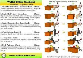 Office Desk Exercise Desk Exercises No No Excuse Pinterest Desk