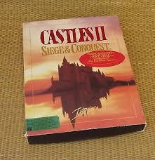 siege ibm castles ii 2 siege conquest interplay productions 5 25 pc big