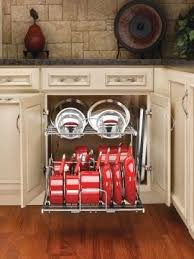 kitchen storage ideas for pots and pans pot and pan storage ideas