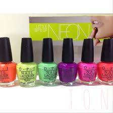 opi little bits of neon summer 2014 review