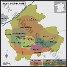 Loire Valley France Map by The Loire Valley