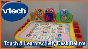 vtech table touch and learn vtech touch and learn activity desk deluxe and preschool