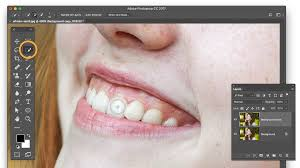 Best Way To Whiten Teeth At Home How To Whiten Teeth In Photoshop Adobe Photoshop Cc Tutorials