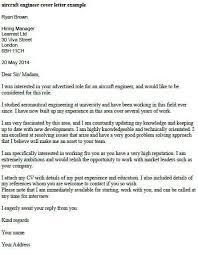 aerospace engineer cover letter aerospace engineer cover letter