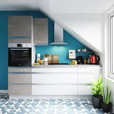 cuisine blanche et bleue cuisine bleue et blanche plan iqdiplom com