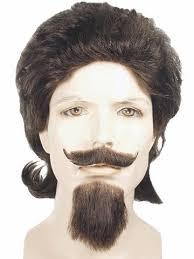 Halloween Costume Goatee Buffalo Bill Cody Costume Wig Mustache Goatee Ebay