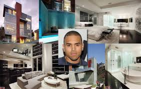 chris brown photos inside celebrity homes ny daily news