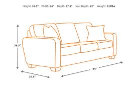 alenya charcoal sofa signature design by ashley furniture