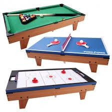 3 in 1 air hockey table 3 in 1 air hockey ping pong billiard multifunctional table multi
