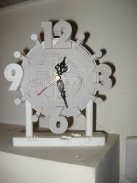 3d printed clock design by claudio salvatore letterato pinshape