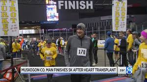 thanksgiving 5k man runs thanksgiving 5k months after heart transplant youtube