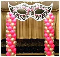 masquerade ball party ideas uk best decorations on balloon columns