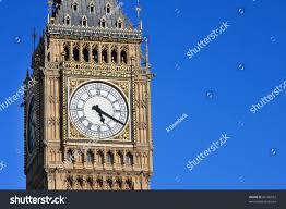 London Clock Tower by Famous Big Ben Clock Tower London Stock Photo 60186952 Shutterstock