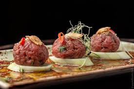 tartare cuisine style beef tartare recipe food n chef