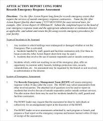 after event report template after report template simple screenshoot sle template 1