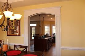 Dining Room Columns Arch Molding Between My Kitchen And Dining Room With Crown Molding