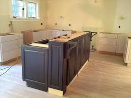 kitchen island build amazing the collection of cabinets build modern diy kitchen island