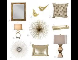 Copper Home Decor Gold Home Decor Home Design Ideas