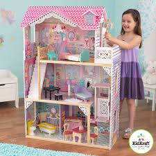 Barbie Dolls House Furniture Amazon Com Kidkraft Annabelle Dollhouse With Furniture Toys U0026 Games