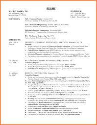 mechanical engineering resume template 8 mechanical engineer resume sle pdf professional list template