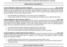 System Administrator Resume Samples by Cool Idea System Administrator Resume 10 Systems Administrator