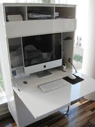Compact Secretary Desk Best 25 Imac Desk Ideas On Pinterest Desk Ideas Room Goals And