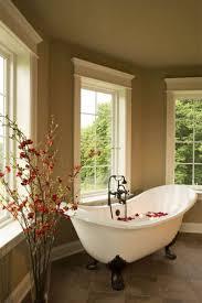 Bathtub Structure Bathroom Simple Romantic Bathroom Decor Outdoor With Round