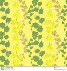 climbing plant on yellow background sketch vector illustration