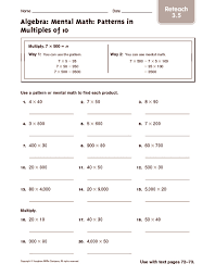 free worksheets 4th grade math patterns worksheets free math