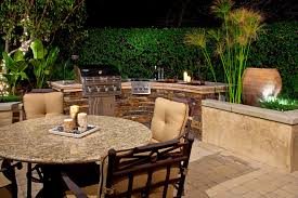 warm and pleasant backyard bbq designs design idea and decorations