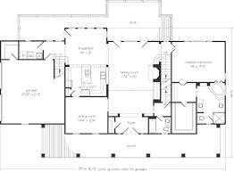 Southern Living Floorplans Lumbarton John Tee Architect Southern Living House Plans