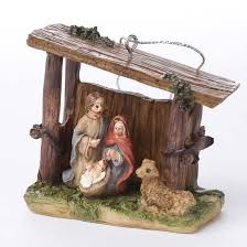 miniature nativity ornament ornaments