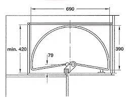plateau tournant pour meuble de cuisine plateau tournant demi lune700 mm cuisinesr ngementsbains