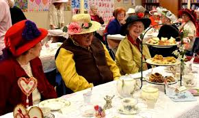 high turnout at valentine u0027s day tea party in fort morgan fort