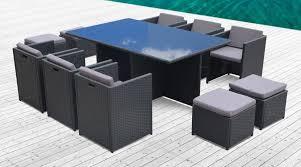 canape de jardin en resine tressee pas cher stunning salon de jardin aluminium et resine tressee ideas