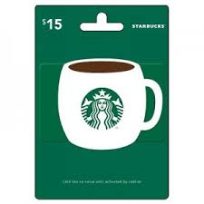 15 gift cards giveaway 15 starbucks egift card 2 winners
