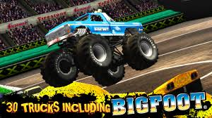 blue thunder monster truck videos monster truck destruction android apps on google play