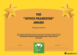 20 hilarious office awards to embarrass your colleagues socialtalent