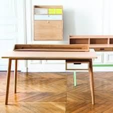 meuble bureau secretaire design hartô bureau secrétaire mural gaston jaune gris 3e parallèle