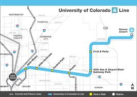 Map A Route by Rtd Facts And Figures East Light Rail Line