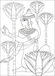 egyptain patterns to color ancient egypt designs for coloring