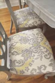 Diy Dining Room Chair Covers Best 25 Dining Chair Makeover Ideas On Pinterest Kitchen Chair