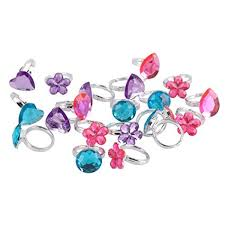 gem rings images Yarssir rhinestone princess rings 30 pcs colorful jpg