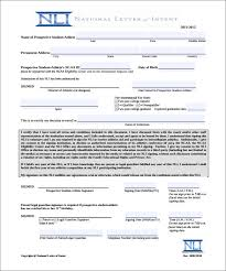 letter of intent u2013 12 free word pdf documents download free
