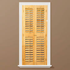 faux wood shutters plantation shutters the home depot plantation light teak real wood interior shutters price varies by size