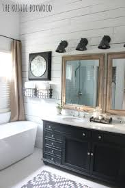 Black And White Bathrooms Ideas by Best 20 Farmhouse Style Bathrooms Ideas On Pinterest Farm Style