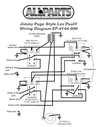 wiring kit for jimmy page les paul allparts com